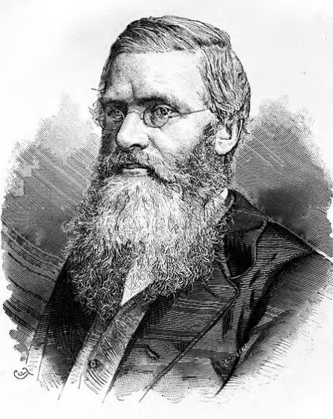Alfred Russel Wallace: so miserable, he only allowed himself to be drawn in monochrome.