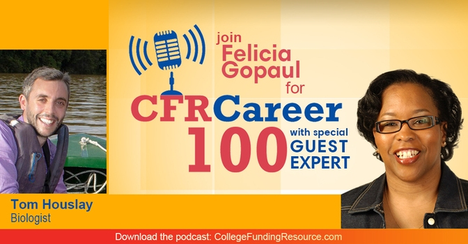 Interview on the Career 100 podcast
